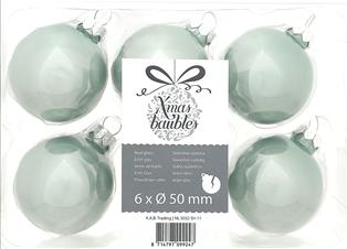 Kerstboom, kerstdecoratie, thuisbezorgd, gratis levering, blauwe kertballen, roze kerstballen, eucalyptus kerstballen, 6 x 50mm kerstballen, boomaanhuis.nl, kerstbomen, decoratie, kerstdecoratie, kerstboomdecoratie, glazen kerstballen, ballen
